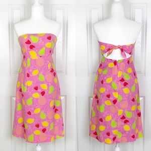 Lilly Pulitzer Sabrina Dress in Hibiscus Marzipan